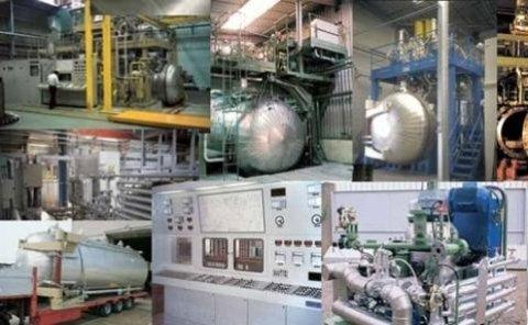 Resin treatment plants