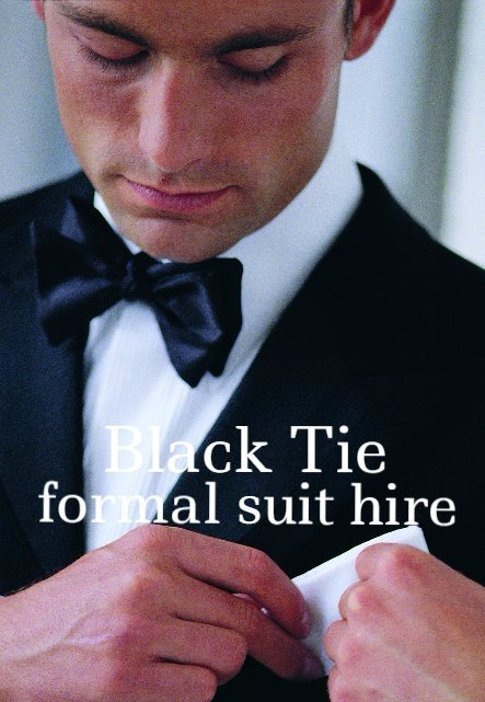 Black tie Suit hire, Wedding hire
