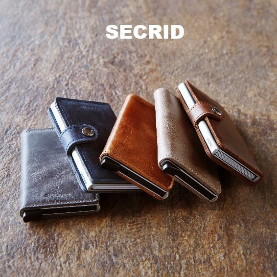 Secrid wallets at Warwick