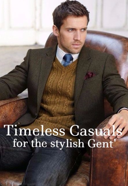Menswear casual wear jackets trousers knitwear shirts accessories