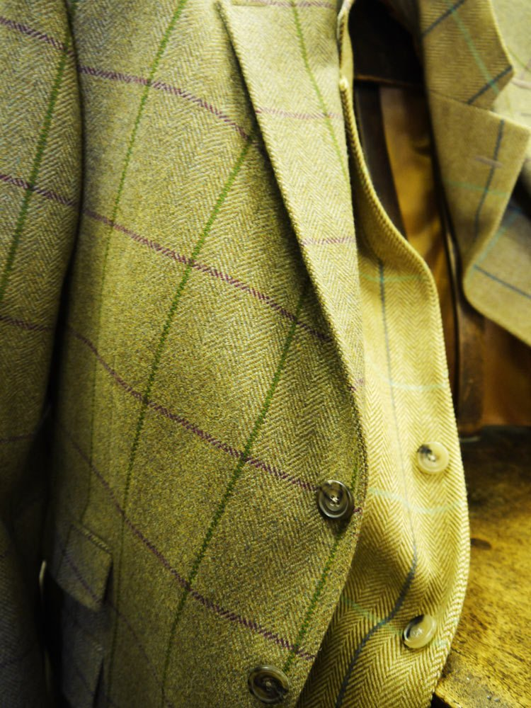 Tweed jackets at Heaphys Warwick
