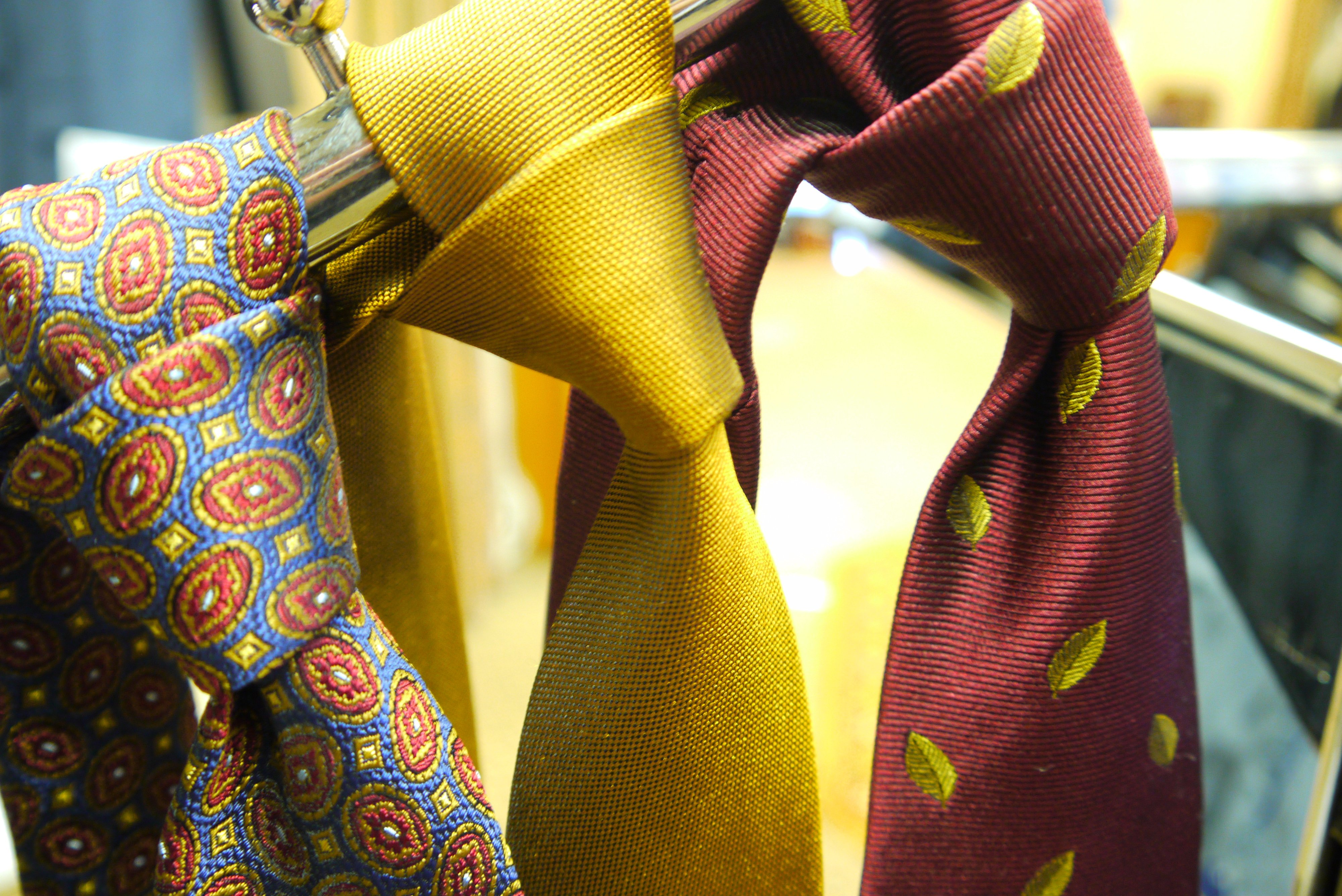 Ties at Heaphy's in Warwick