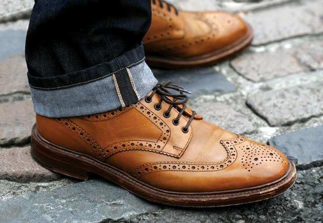 Loake shoes at Warwick