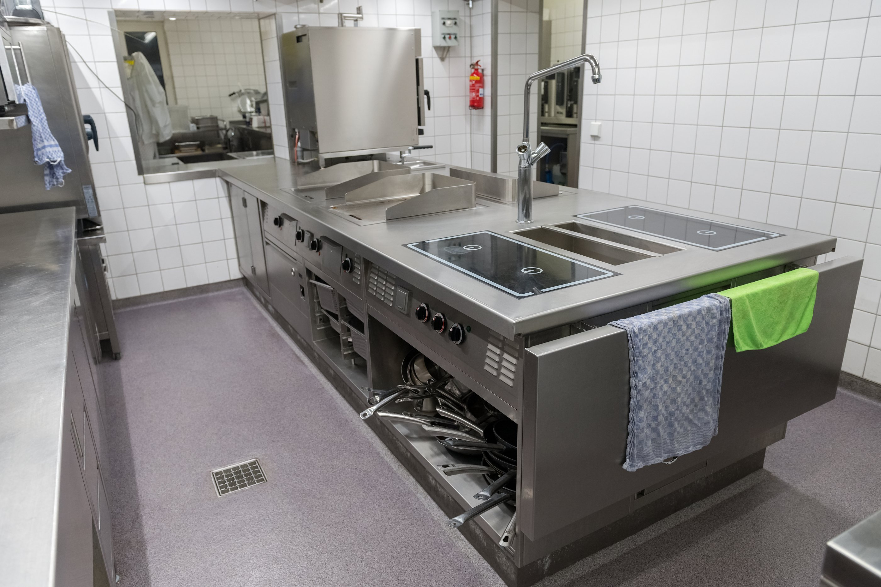 Commercial Kitchen Flooring Epoxy Flooring Blacktown Industrial And Commercial