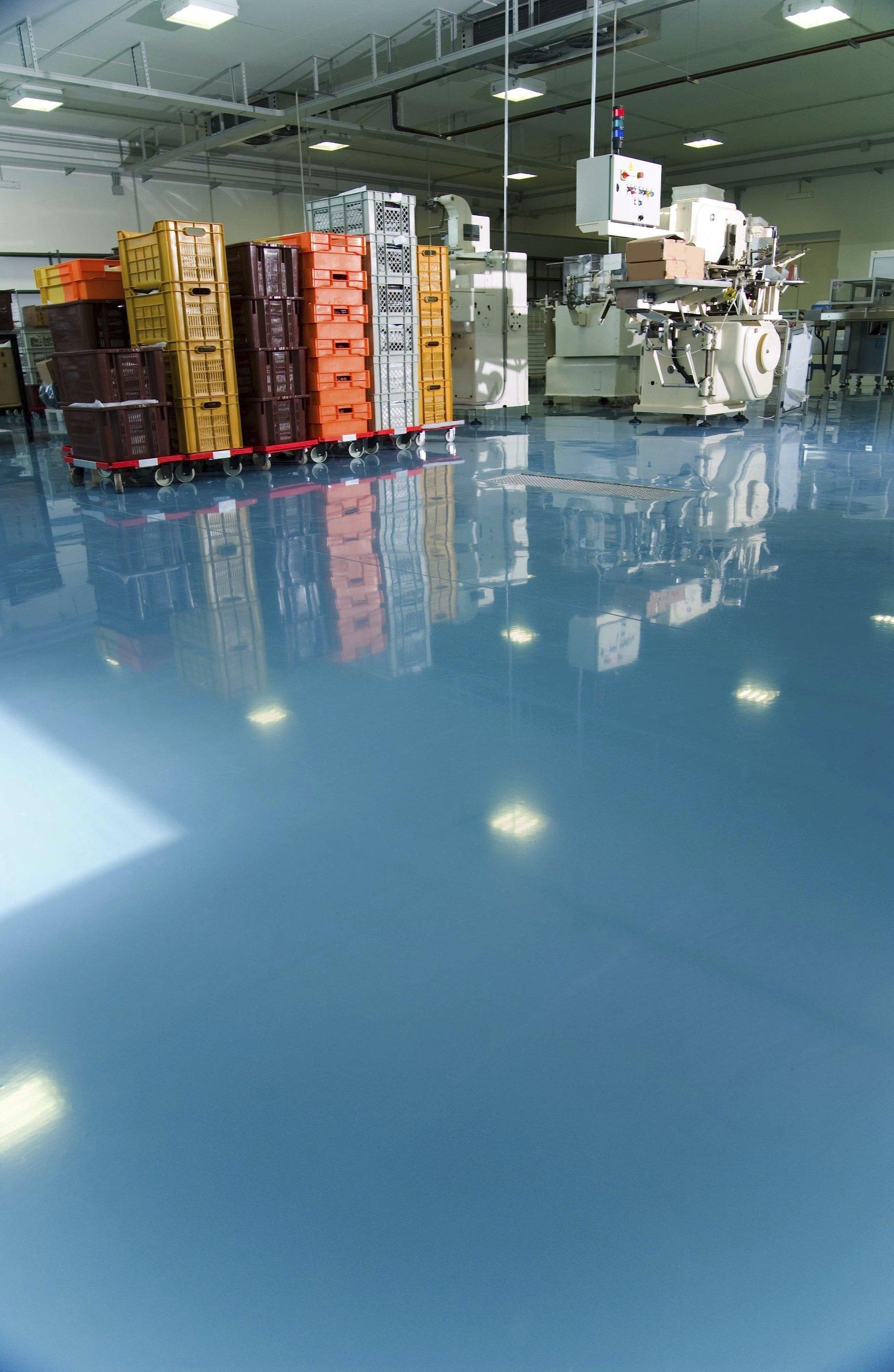 warehouse epoxy floor sydney
