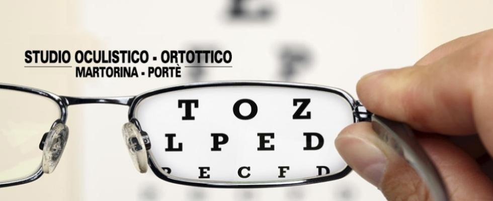 pubblicità studio oculistico