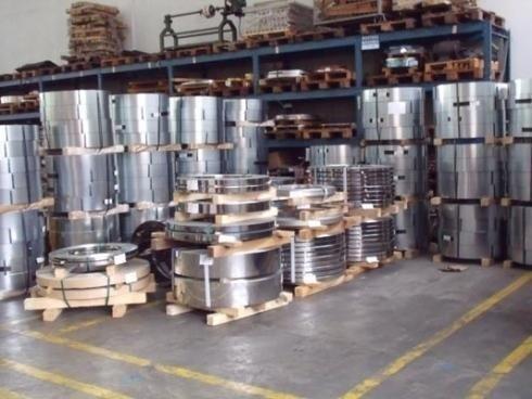 fornitura di bobine di metallo