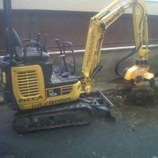 escavatore noleggio