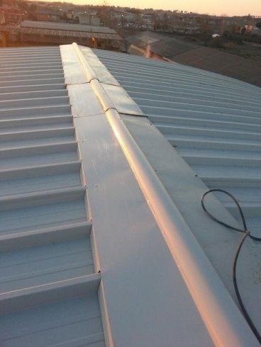 Copertura per tetti dopo intervento di pulizia