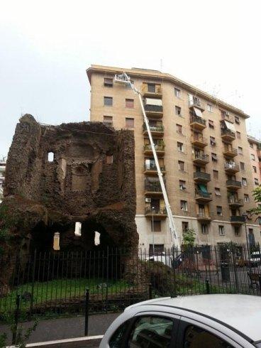 interventi su edifici con ragno 36 metri