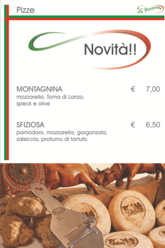 Pizze nuove