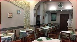 Cena in pizzeria