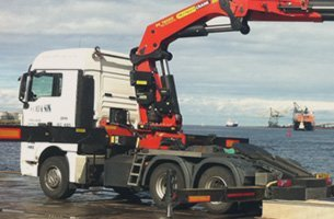 haulage for offloading goods