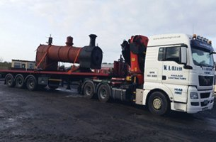 haulage for international delivery