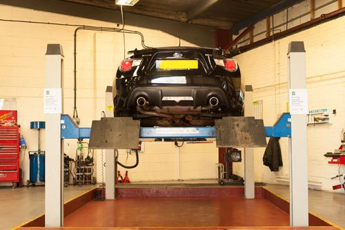 MOT services at the new and used car garage in Peterborough