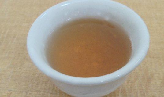 Green tea made from Hojicha