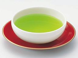 Green tea made from sencha leaves