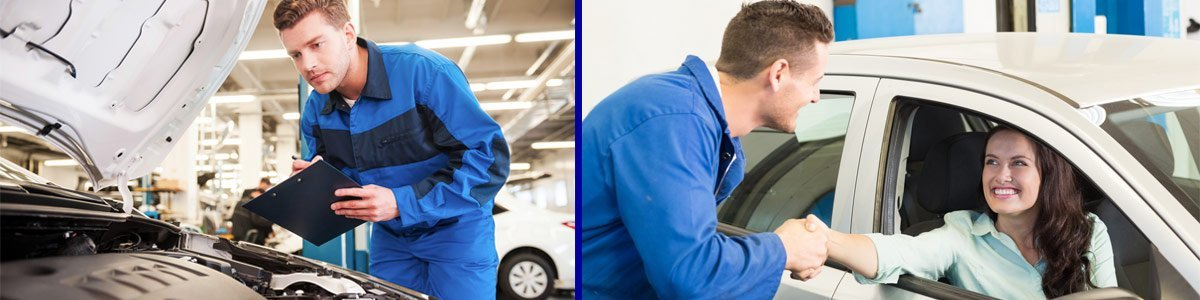 Auto electrician working on car alarms in Newcastle