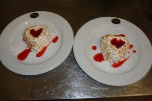 dolci preparati dallo chef Paolo
