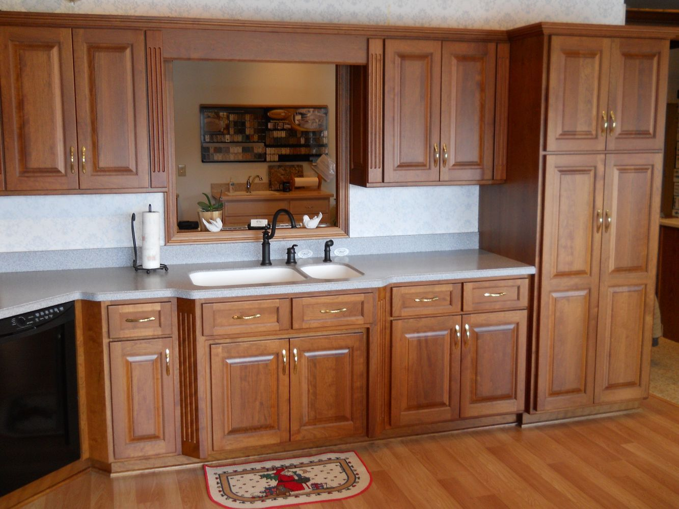 Example of modern kitchen cabinets in La Grange, OH