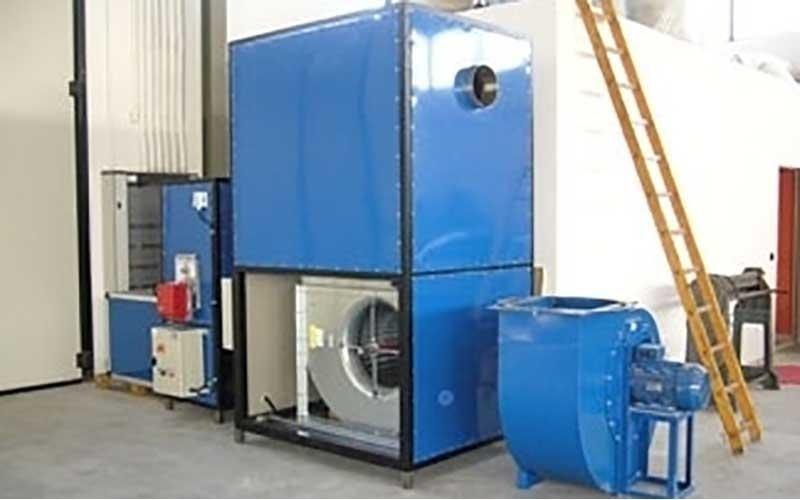 aspiratori di gas di combustione per caldaie e forni