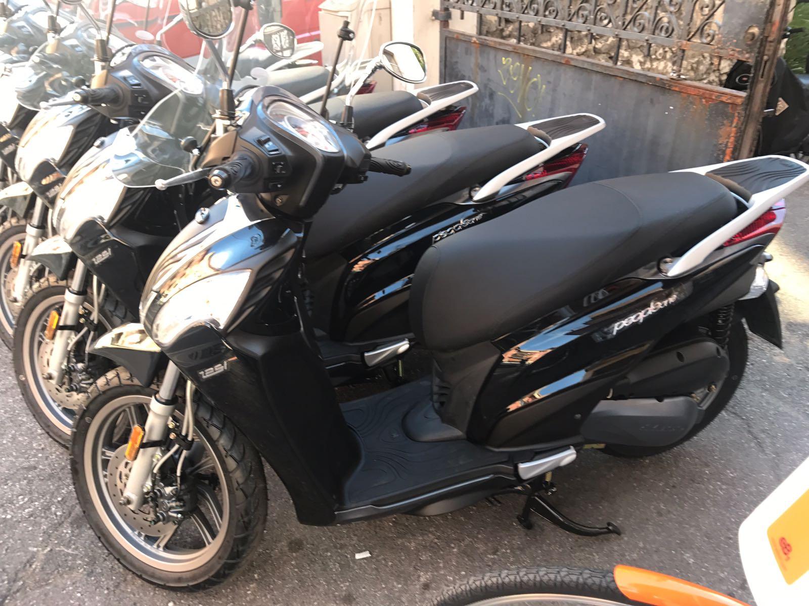 particolare scooter