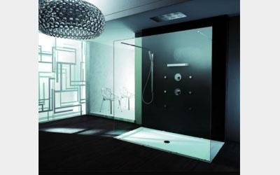 box doccia aperto, walk in