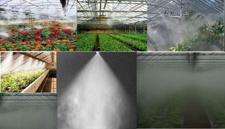 irrigazione a nebulizzazione, nebulizzatore