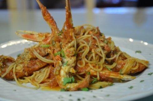 Spaghetti Agli Scampi Locali