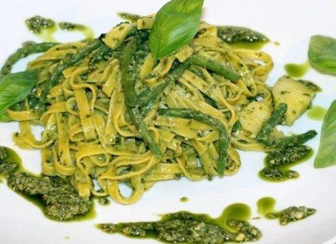 Taglioni  freschi al Pesto