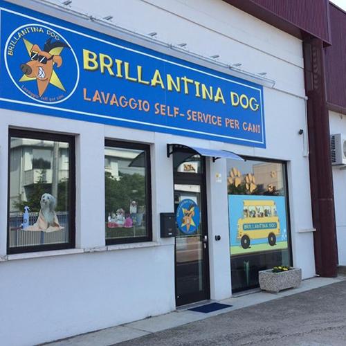 entrata del centro toelettatura self service