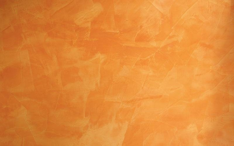Stucco veneziano arancio