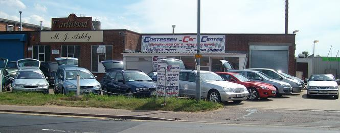 Our Used Cars Gallery In Front Of Our Centre