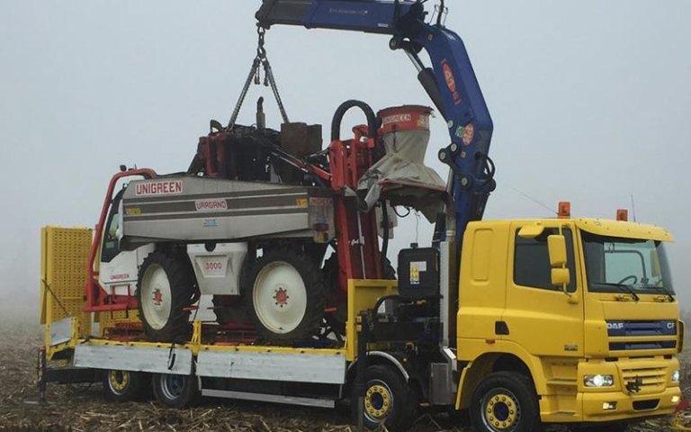 sollevamento trattori