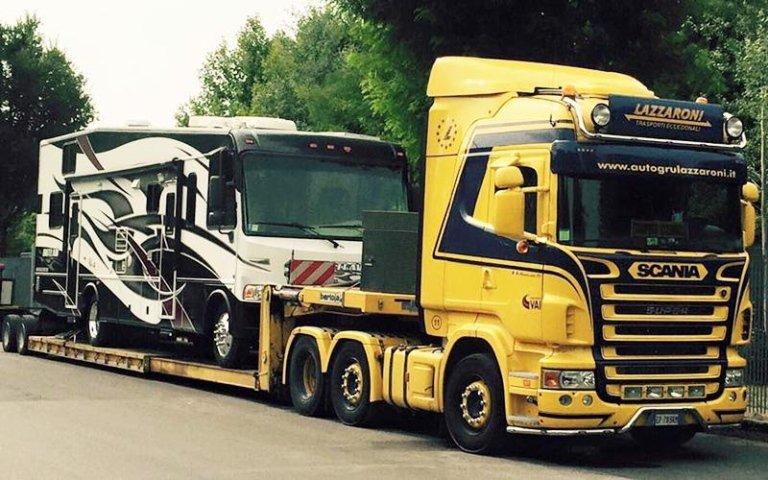 trasporto automezzi