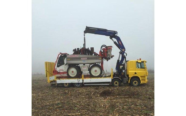 sollevamento macchine agricole