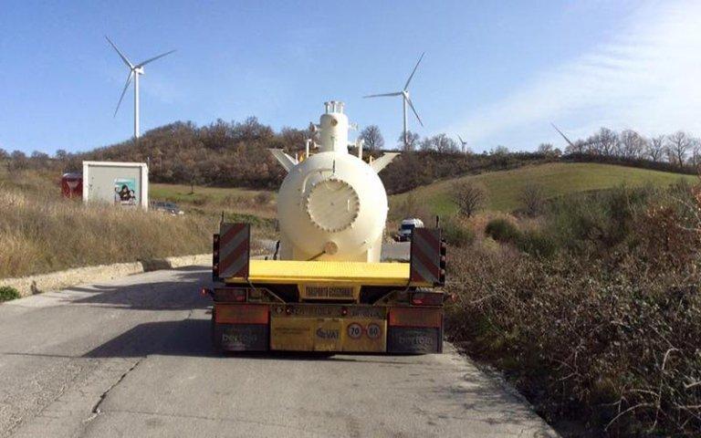 trasporto boiler