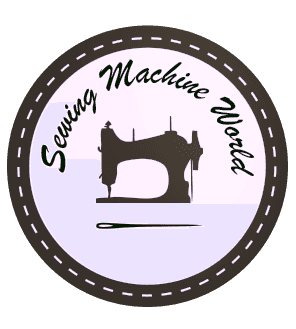 logo sewing machine world