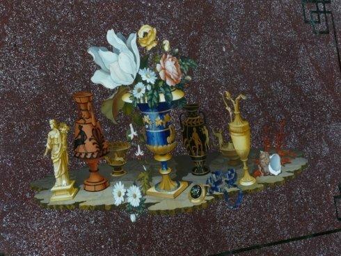 intarsi in pietre dure, decorazione su pietra, mosaici