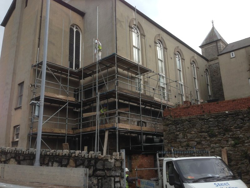 new commercial scaffolding