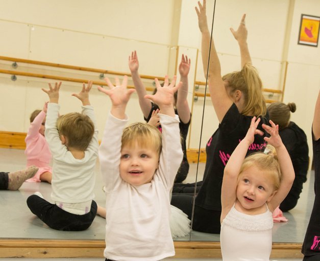 Dance lessons for tiny tots