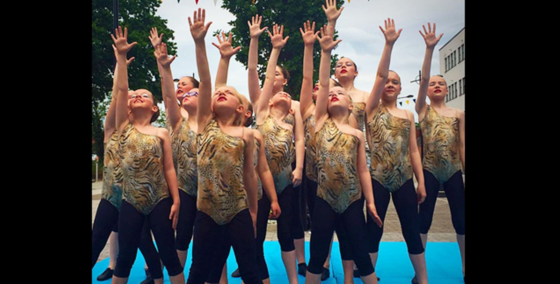 Children's dance performance