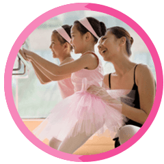 Ballet training for children