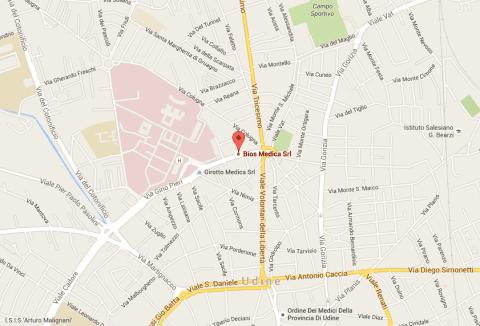 Biosmedica sede Udine via Forni di Sotto 38