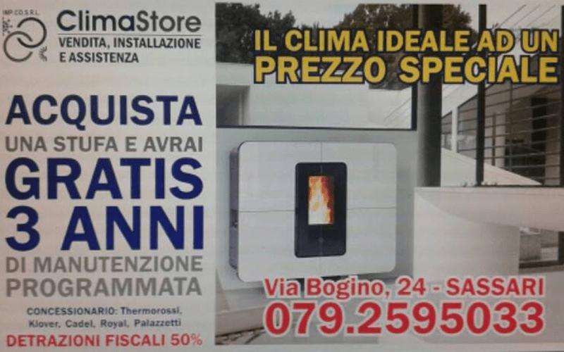 Offerta Stufe a Pellet Sassari