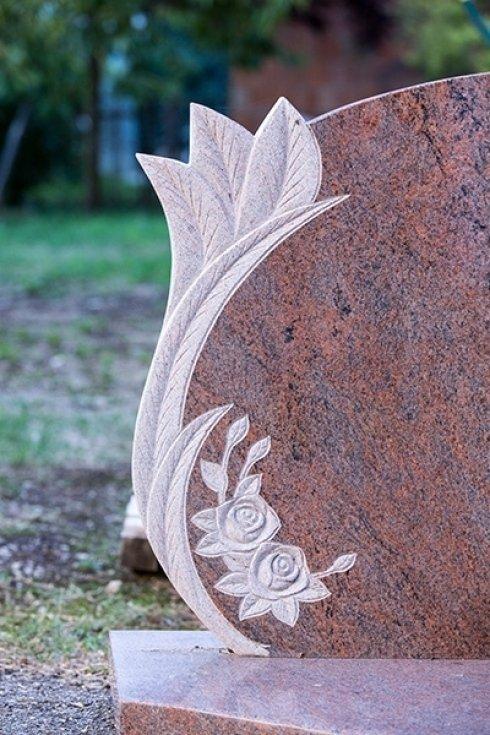 decorazione su marmo