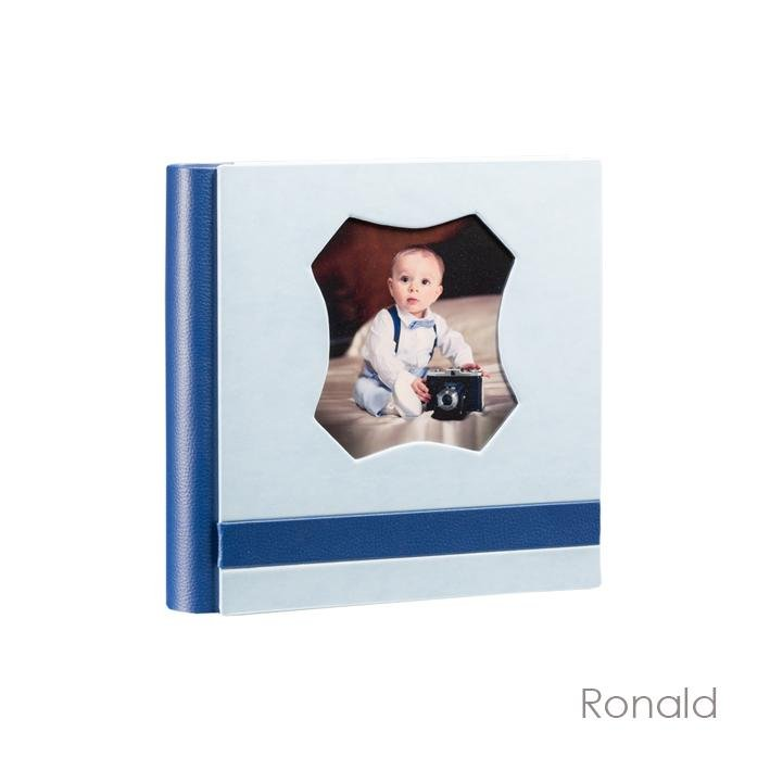 Modello Ronald. Album in similpelle con foto plastificata. Disponibile nei formati 30x30, 33x33, 35x35, 30x40 e 40x30 Olimp Album