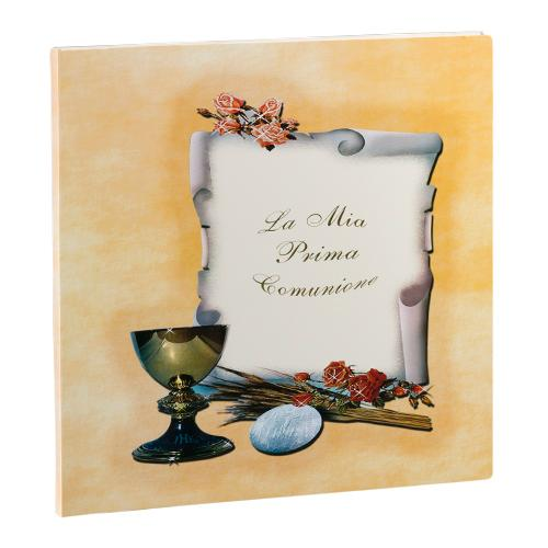 Communion Folder art. 3. Cardboard album folder. Available in 24x30, 30x30, 33x33 formats, for a maximum of 12 slots Olimp Album