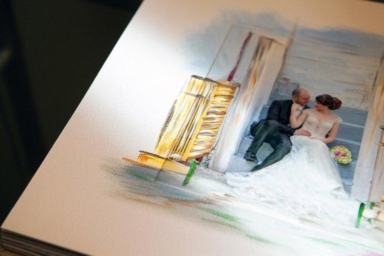 Fotolibro Artistico Pittura continua particolare