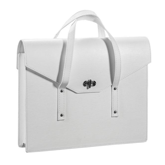 Bag Olimp Album. Borsa in similpelle, disponibile per l'album 30x40 e 35x45 nei colori bianco, nero e marrone